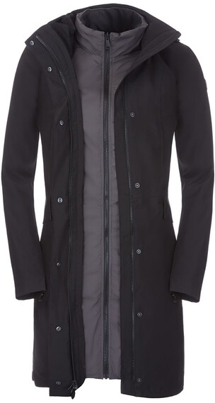 The North Face W's Suzanne Triclimate Jacket TNF Black